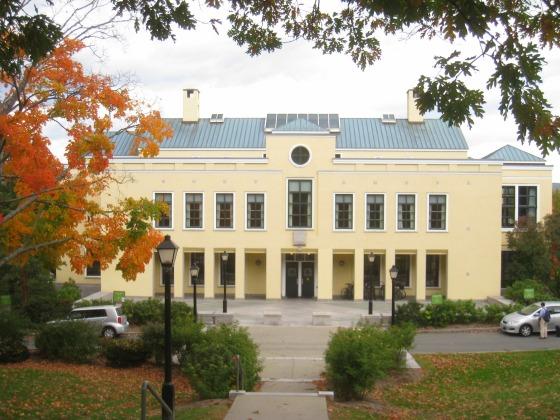 Fesselnd College Also Moves Squash Courts, Val Panini Press, Dean Callu0027s Office,  Half Of
