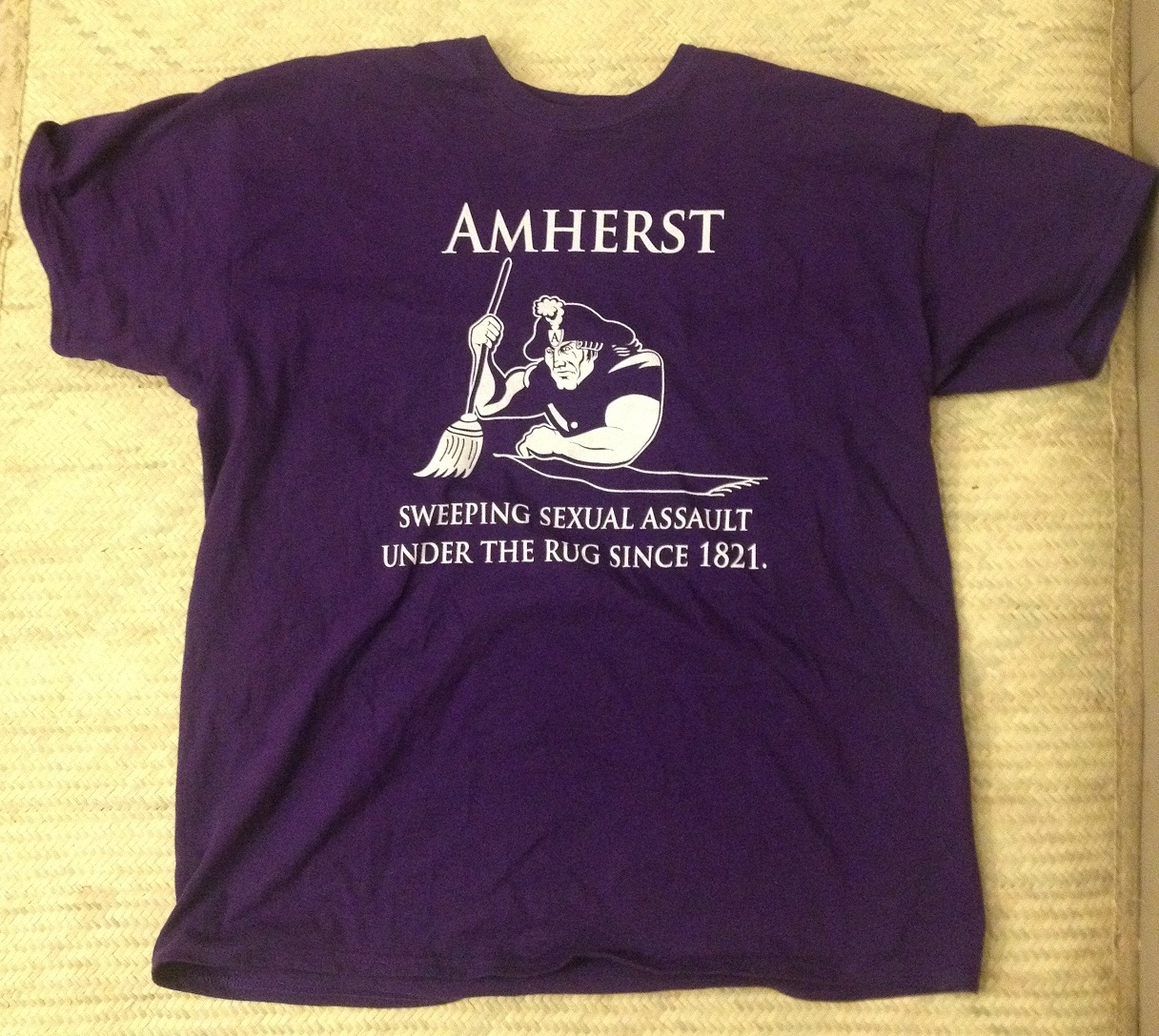 college censures td for offensive t shirt the amherst muck rake